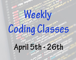 Weekly Coding Classes